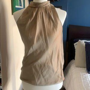 DKNY 100% Silk Sleeveless Top